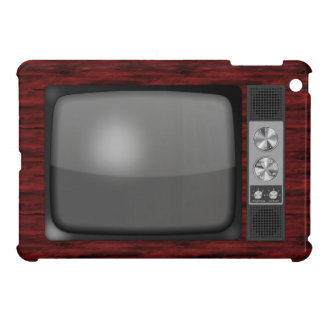 レトロのヴィンテージのテレビ iPad MINI CASE