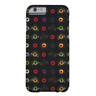 レトロのヴィンテージのビニール45の記録 BARELY THERE iPhone 6 ケース