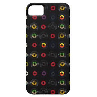 レトロのヴィンテージのビニール45の記録 iPhone SE/5/5s ケース