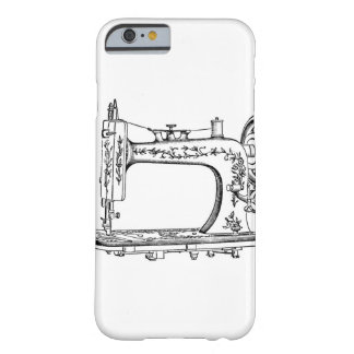 レトロのヴィンテージのミシン BARELY THERE iPhone 6 ケース