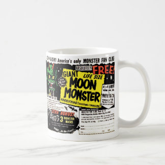 レトロのヴィンテージの低俗で巨大な月モンスターの漫画の広告 コーヒーマグカップ