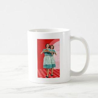 レトロのヴィンテージの低俗な料理の台所主婦 コーヒーマグカップ