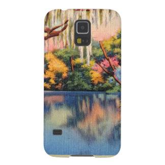レトロのヴィンテージの低俗な郵便はがきSuwannee Swanee Galaxy S5 ケース