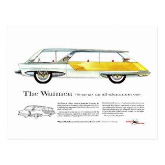 レトロのヴィンテージの低俗なKaiser Waimeaの概念車 ポストカード
