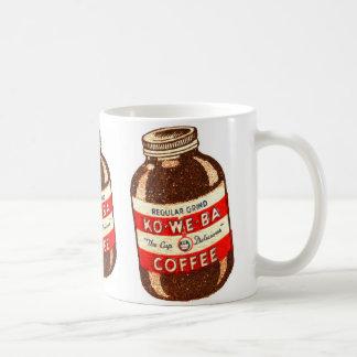 レトロのヴィンテージの低俗なKo私達Baのコーヒー コーヒーマグカップ
