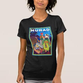 レトロのヴィンテージの低俗なMuradのトルコのタバコの広告 Tシャツ
