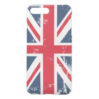 レトロのヴィンテージの動揺してでグランジなイギリスの旗の英国国旗 iPhone 8 PLUS/7 PLUS ケース
