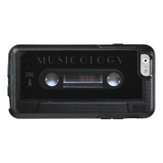 レトロのヴィンテージの可聴周波スタイルカセットカバー オッターボックスiPhone 6/6Sケース