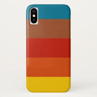 レトロのヴィンテージ色の電話箱 iPhone X ケース