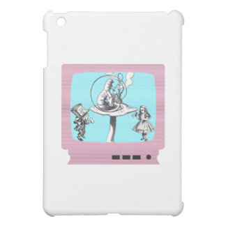 レトロの不思議の国TV iPad MINI カバー