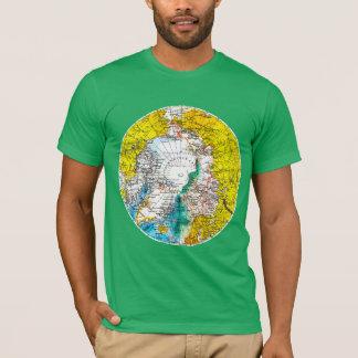 レトロの世界地図 Tシャツ