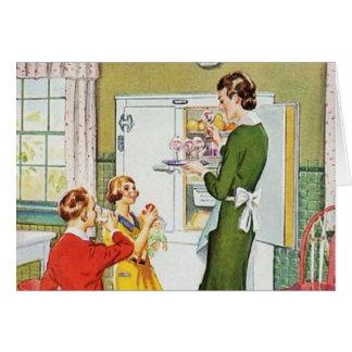 レトロの主婦 カード