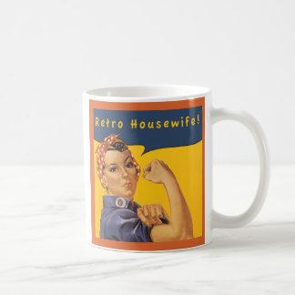 レトロの主婦! コーヒーマグカップ