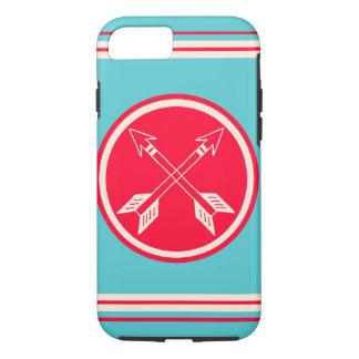 レトロの二重矢のヒップスターのiPhone 7つのケース iPhone 8/7ケース