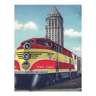 レトロの列車チャンピオンのマイアミの鉄道 レターヘッド