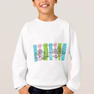 レトロの十代の誕生会 スウェットシャツ