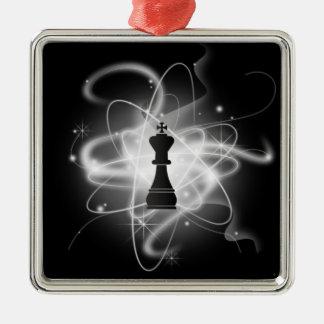 レトロの原子駒-王 メタルオーナメント