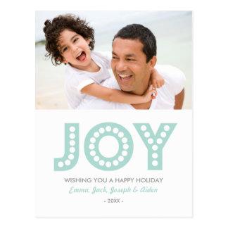 レトロの喜び%PIPE%の休日の写真の郵便はがき ポストカード