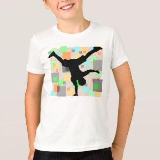 レトロの壊れ目のダンサーのTシャツ Tシャツ