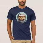 レトロの宇宙猫 Tシャツ