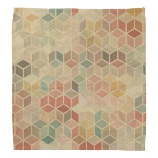 レトロの幾何学的なパターン5 バンダナ