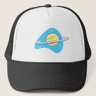 レトロの惑星土星 キャップ