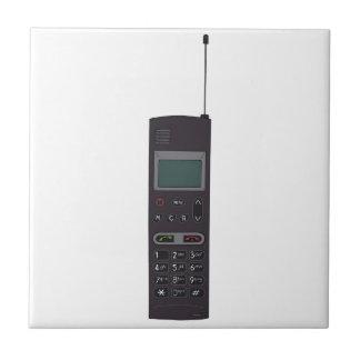 レトロの携帯電話 タイル