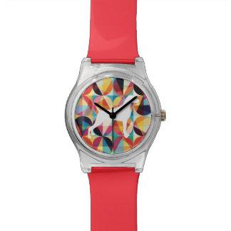 レトロの数々のなカラー・グラフィックWEIMARANERの腕時計 腕時計