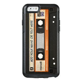レトロの旧式80s Mixtapeのオーディオ・カセットテープ オッターボックスiPhone 6/6sケース
