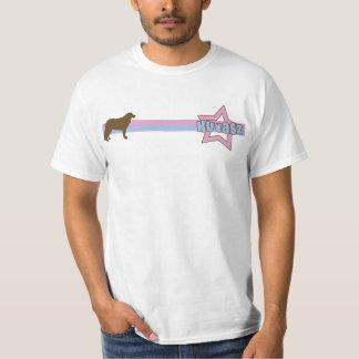 レトロの星Kuvasz Tシャツ