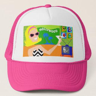 レトロの映画俳優のトラック運転手の帽子 キャップ