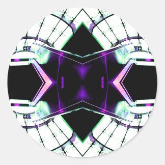 レトロの未来派の宇宙時代のファンタジー- CricketDiane ラウンドシール