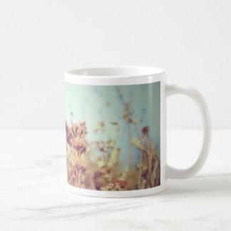 レトロの植物 コーヒーマグカップ