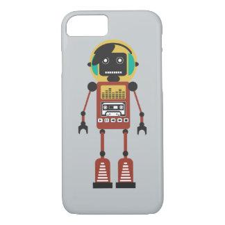 レトロの無線のロボット iPhone 8/7ケース