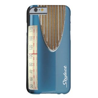 レトロの無線のStylectの世紀半ば音楽 Barely There iPhone 6 ケース