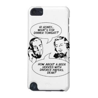 レトロの男女同権主義のユーモアの電話箱 iPod TOUCH 5G ケース
