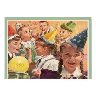 レトロの第65誕生会の1950年の幼年期の記憶 カード
