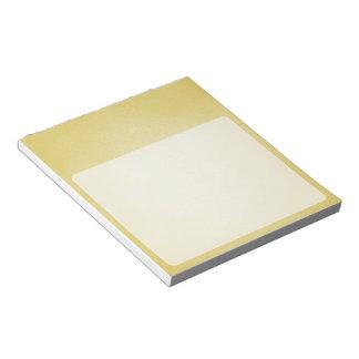 レトロの粒状ベージュ背景 ノートパッド