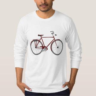 レトロの自転車のイラストレーション Tシャツ