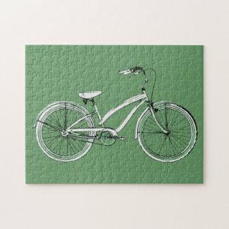 レトロの自転車 ジグソーパズル