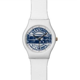 レトロの航空芸術 腕時計