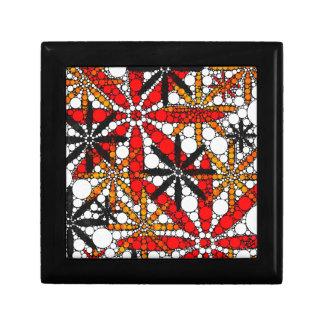 レトロの花の抽象芸術 ギフトボックス