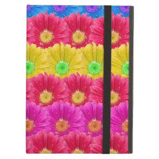 レトロの花は背景パターン活気付きます iPad AIRケース
