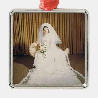 レトロの花嫁 メタルオーナメント