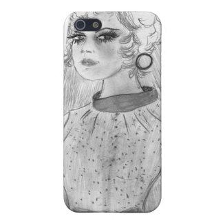 レトロの花嫁 iPhone 5 COVER
