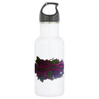 レトロの花柄 ウォーターボトル