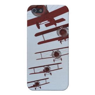 レトロの複葉機 iPhone 5 COVER