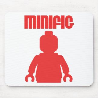 レトロの赤いMinifigは私のMinifigをカスタマイズ マウスパッド