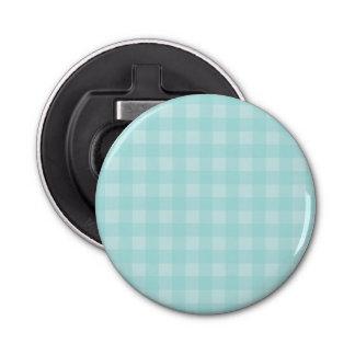レトロの青いギンガムチェック模様のパターン背景 栓抜き