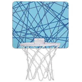 レトロの青90sのバスケットボールたが ミニバスケットボールゴール